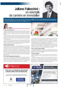 Article de la Corpiq  Juliano Faleschini - Gestion Immobilière Falco